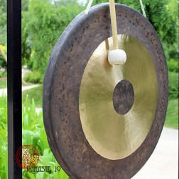 81 cm, Gong lunaire, Asian sound tam tam, Chao Gong,Tam Tam Gong, (432Htz)