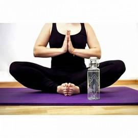 GOURDE de méditation ou yoga SOULBOTTLE AVEC MOTIF FLEUR DE LOTUS