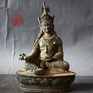 Bronze Guru Rinpoche, Padmasambhava, le second Bouddha