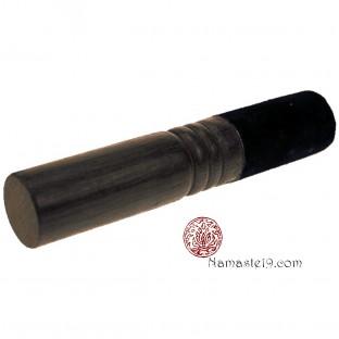 Bâton bol chantant - 4 en 1 - bois et peau noircie