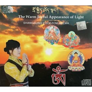 Cd musique tibètaine. Cd The Warm Joyul Appearance of Light