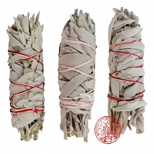 LOT DE 3 Smudge 30 gr de sauge blanche de Californie pour fumigation.