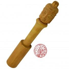 Baton pour bol chantant tibétain tête du bouddha