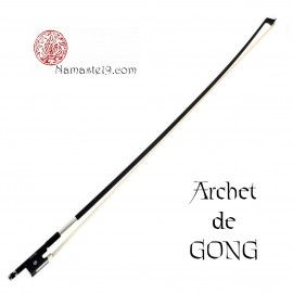 Archet pour gong therapeutique