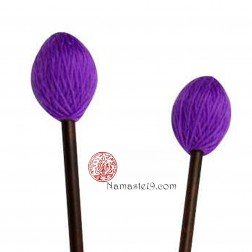 Long maillet pour bol chantant violet normal (concert).
