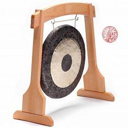 Stand en bois pour gong 40 cm,