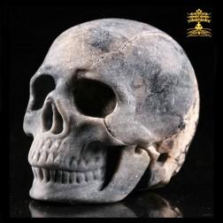 17/11 crâne de jaspe picasso. Crâne de guérison