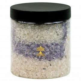 400gr de Graviers de quartz, améthyste et quartz rose pour purification des minéraux