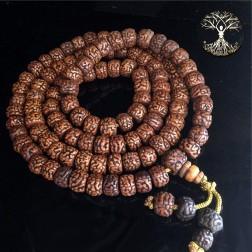 Mala rudraksha mala yoga vedas 108 perles