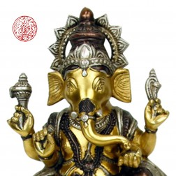 sculpture de GANESH BRONZE 24 CM