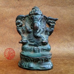 GANESH vintage bronze antique patiné
