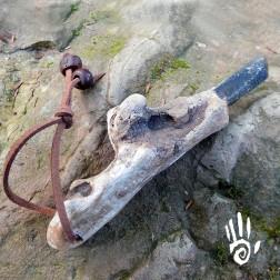 17/114 Bâton de guérison quartz élestial pour reiki et chamanisme.