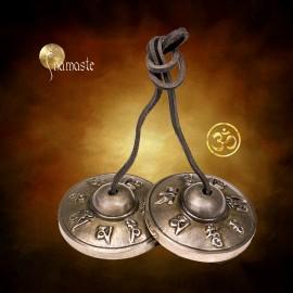 Cymbales - son longue durée OM, tingsha OHM, AUM