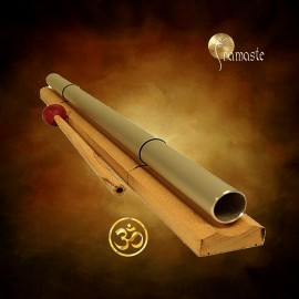 Tube carillon harmoniseur accordé au son Om 55cm,136.10 Hz