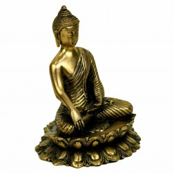 Bouddha Sakyamuni, statue sculpture bronze 20 cm