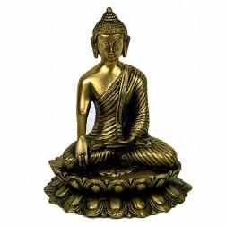 Bouddha Sakyamuni, statue sculpture bronze 27 cm