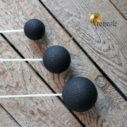 set de 3 Maillets Resonnants Gong, Gong Resonant Mallet