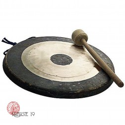45 cm, Gong lunaire, Asian Sound Tamtam T-45 P Chao Gong, (432Htz)