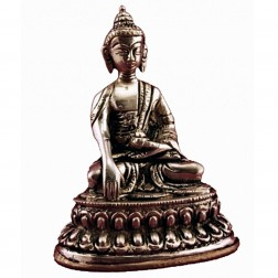 Bouddha Akshobya statue bronze 10cm