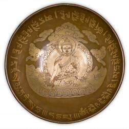 Bol chantant thérapeutique du Bouddha médecine 26/27 cm