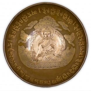 Bol chantant térapeutique du Bouddha médecine 27 cm