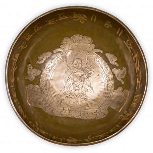 Bol chantant térapeutique de TARA avec mantra. 24/25 cm