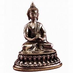Bouddha Amitabha statue bronze 10cm