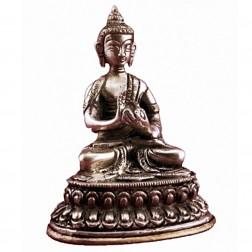 Bouddha Vairochana statue bronze 10cm