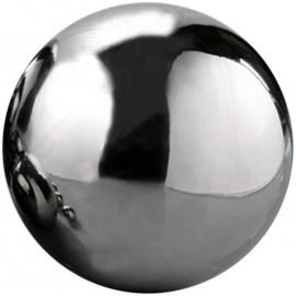 Boule de sorcière miroir en acier inoxydable 30 cm. Boule de méditation.