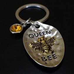 """Porte clef ' Reine des Abeilles"""" Queen bee"""