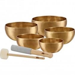 SET complet de bols chantants, avec mailloches et tapis