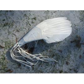 White Deer Woman – Plume blanche de fumigation sacrée de médecine cérémonielle