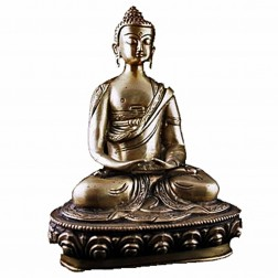 Bouddha Amitabha statue bronze 20cm