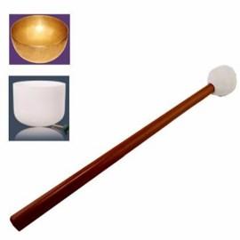 Maillet tête caoutchouc pour bol de cristal, bol chantant, gong