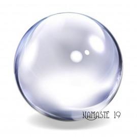 120 mm Boule de cristal de quartz Sans plomb, voyance, méditation, channeling, feng shui.