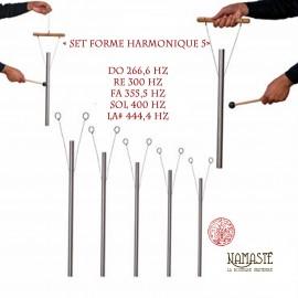 « Set Forme Harmonique 5 » Set de carillons thérapeutiques sonores