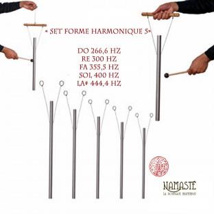 « Set Forme Harmonique 5 » Set de carillon s thérapeutiques sonores