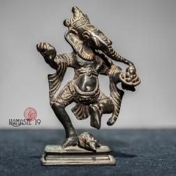 sculpture de Ganesh ancienne en bronze, Ganesha,