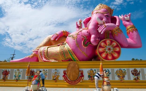 Ganesh Temple at Nakhon Nayok © Radhe Guru Maa